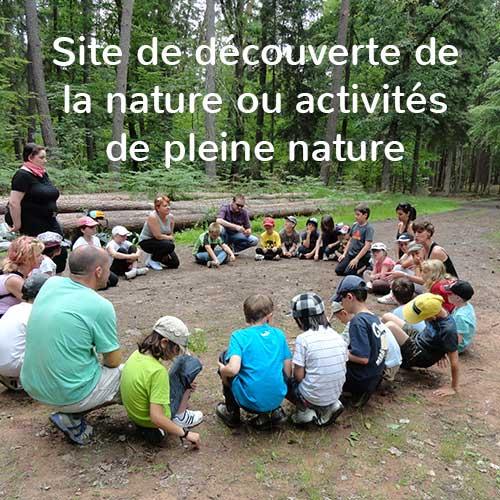 activité de pleine nature