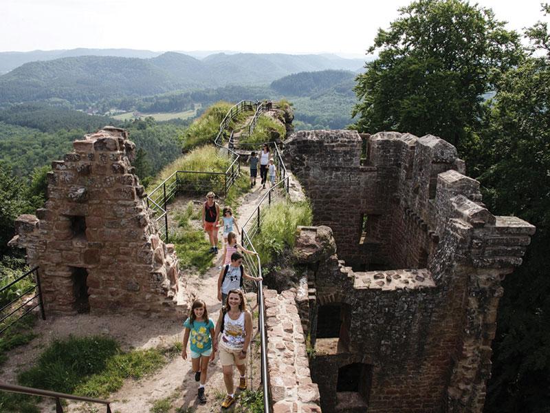 Découverte des châteaux forts