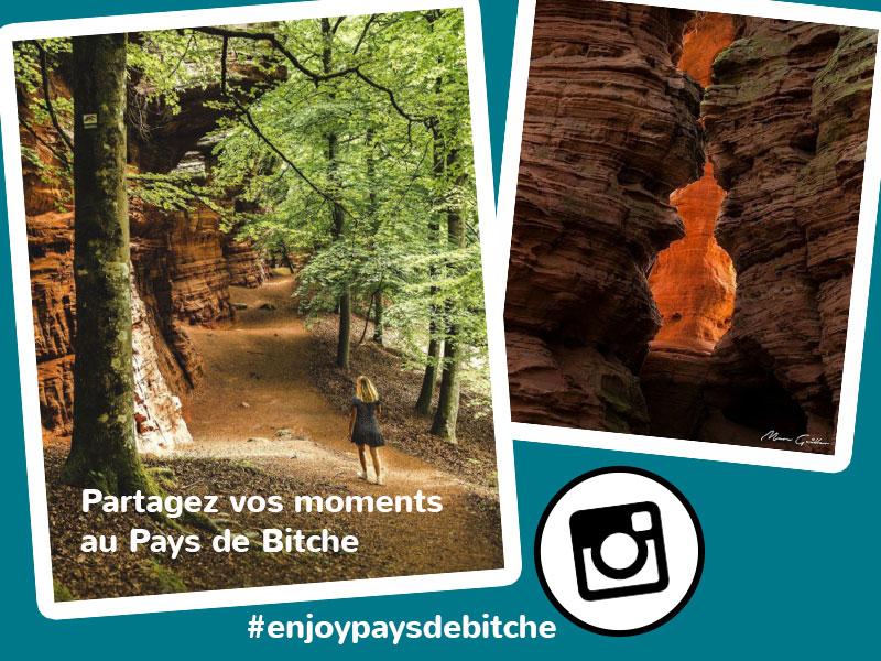 Partagez vos moments sur Instagram !